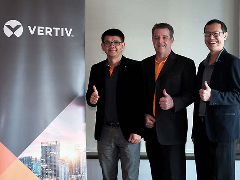 New Name, Same Trusted Capabilities: Emerson Network Power Rebrands as Vertiv™ in Thailand Image