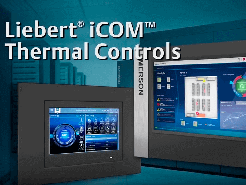 Liebert iCOM Controls: More Protection, Efficiency & Insight Image