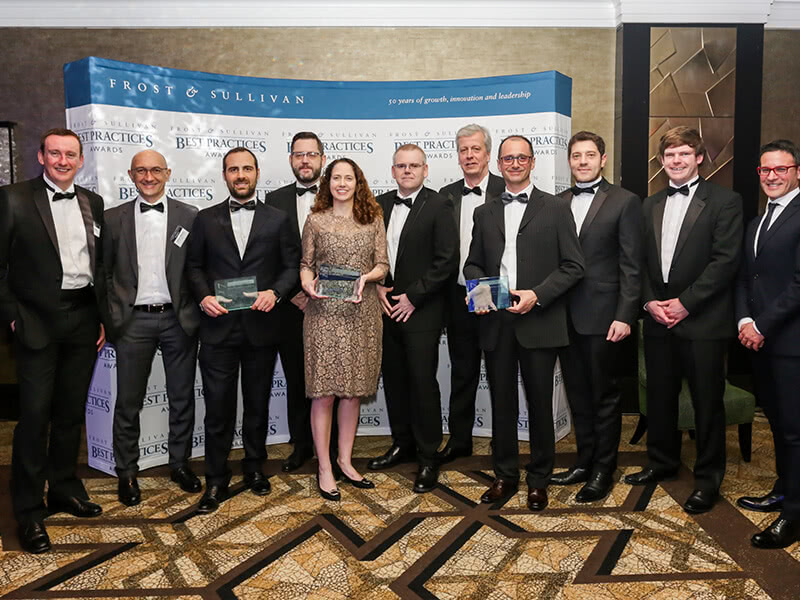 Vertiv Honoured with Three Industry-leading Awards from Frost & Sullivan Image