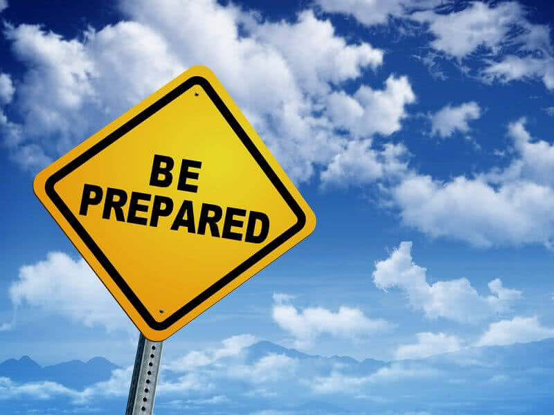 Always Be Prepared Image